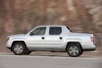 2013 Honda Ridgeline in Alabaster Silver Metallic - Driving Side View